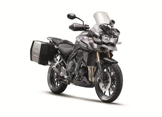 Triumph Extra: Tiger 800, Speed Triple e altri modelli con accessori in offerta - Foto 9 di 14