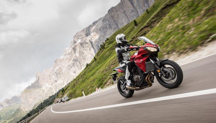 Prova su strada Yamaha Tracer 700: la Sport Tourer unica e affidabile - Foto 21 di 23