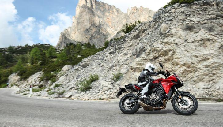 Prova su strada Yamaha Tracer 700: la Sport Tourer unica e affidabile - Foto 13 di 23