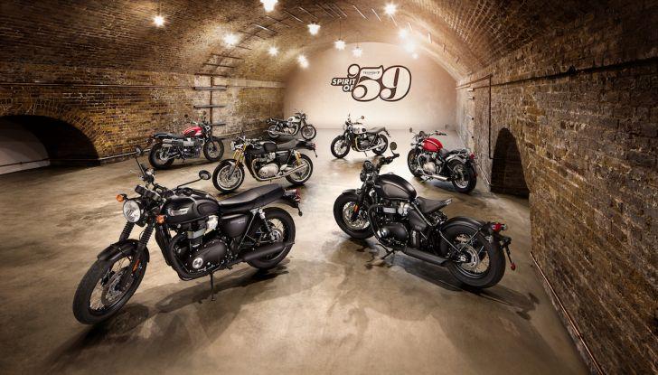 Triumph Classics '59, prova su strada di tre icone inglesi - Foto 7 di 23