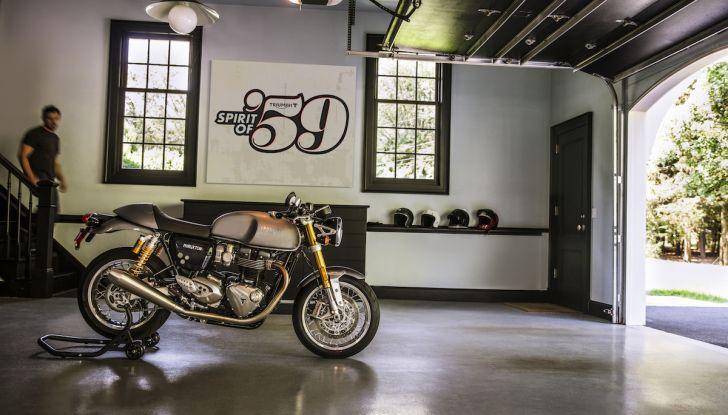 Triumph Classics '59, prova su strada di tre icone inglesi - Foto 6 di 23