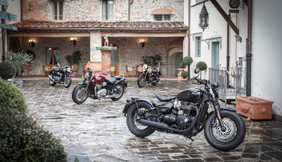 Triumph Classics '59, prova su strada di tre icone inglesi