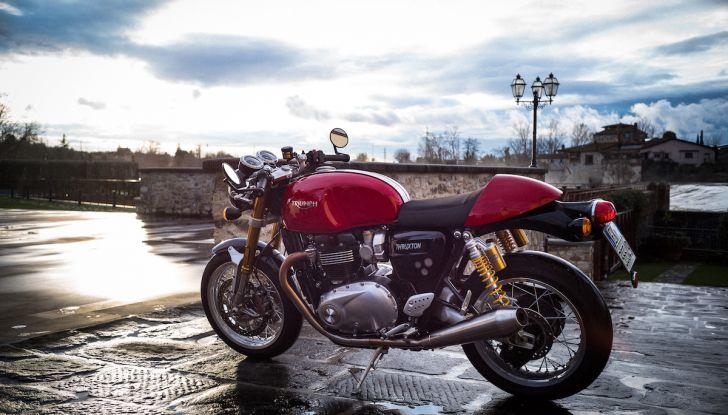 Triumph Classics '59, prova su strada di tre icone inglesi - Foto 2 di 23