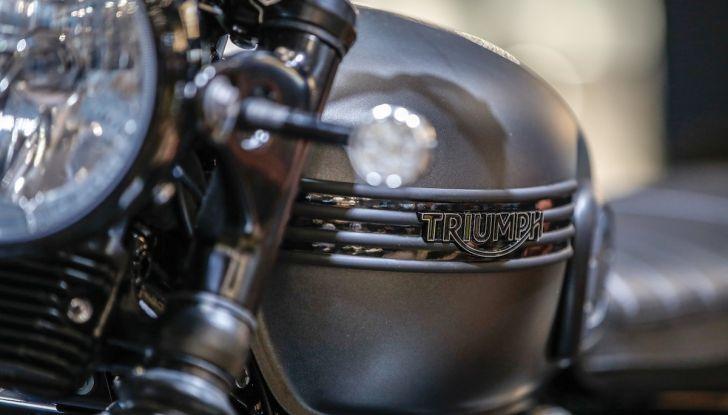 Tutte le novità Triumph per il 2019 a Milano per EICMA - Foto 5 di 12