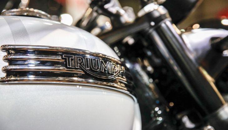 Tutte le novità Triumph per il 2019 a Milano per EICMA - Foto 9 di 12