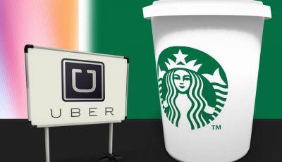 Uber e Starbucks offrono il caffè a domicilio