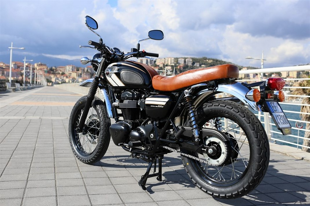 Kawasaki W800 Scrambler Hsc Omologata E Dal Prezzo Umano Infomotori