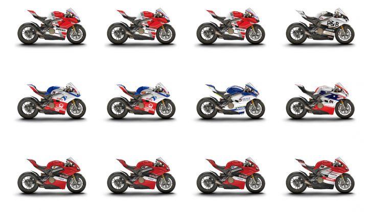 Le Ducati 12 Panigale V4 del WDW 2018 all'asta su eBay - Foto 1 di 6