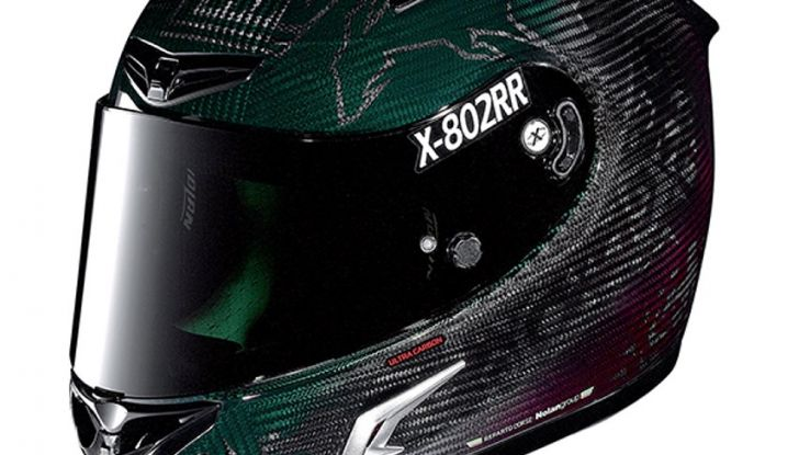 Casey Stoner presenta il Nolan X-802RR Ultra Carbon SuperHero - Foto 3 di 16