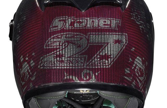 Casey Stoner presenta il Nolan X-802RR Ultra Carbon SuperHero - Foto 4 di 16