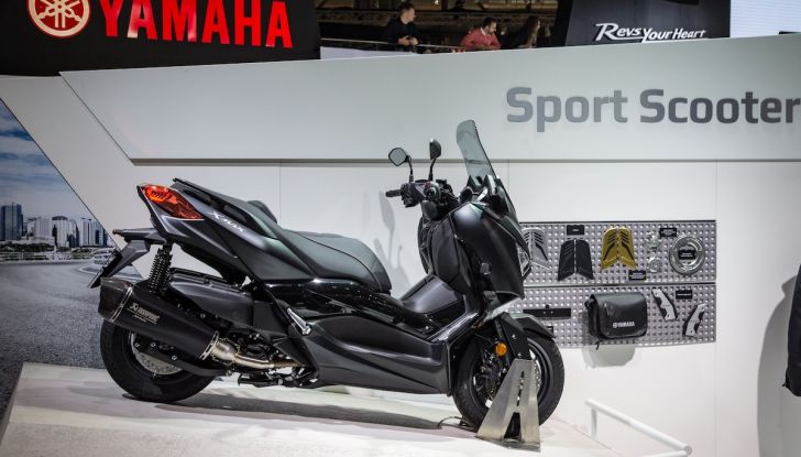 Novità Yamaha a EICMA 2018 - Foto 5 di 33