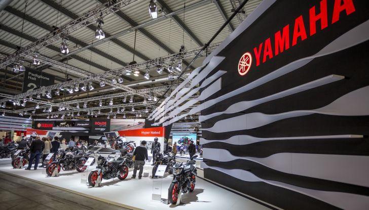 Novità Yamaha a EICMA 2018 - Foto 28 di 33
