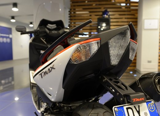 Yamaha TMax 530 versione Giacomo Agostini - Foto 17 di 39