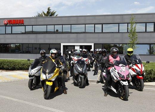 Yamaha TMax 530 e Club TMax ASD al via del Giro d'Italia del Record - Foto 6 di 19