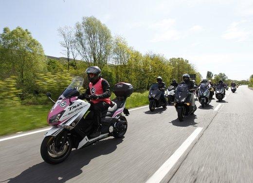Yamaha TMax 530 e Club TMax ASD al via del Giro d'Italia del Record - Foto 12 di 19