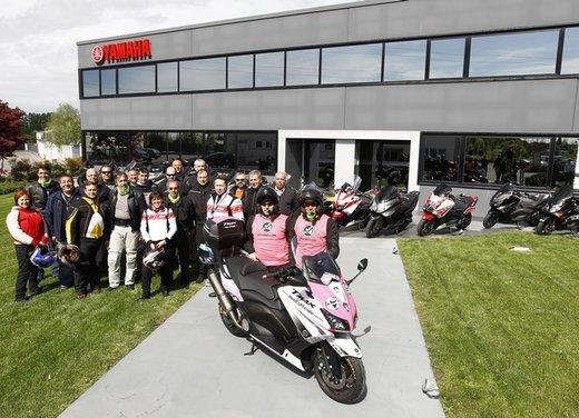 Yamaha TMax 530 e Club TMax ASD al via del Giro d'Italia del Record - Foto 3 di 19