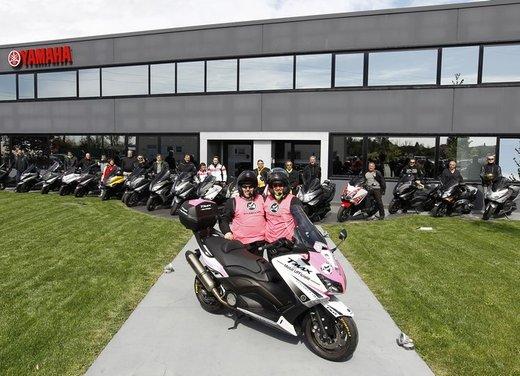 Yamaha TMax 530 e Club TMax ASD al via del Giro d'Italia del Record - Foto 4 di 19