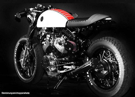 Schema Elettrico Yamaha Virago : Yamaha virago xv cafe racer by doc s chop infomotori