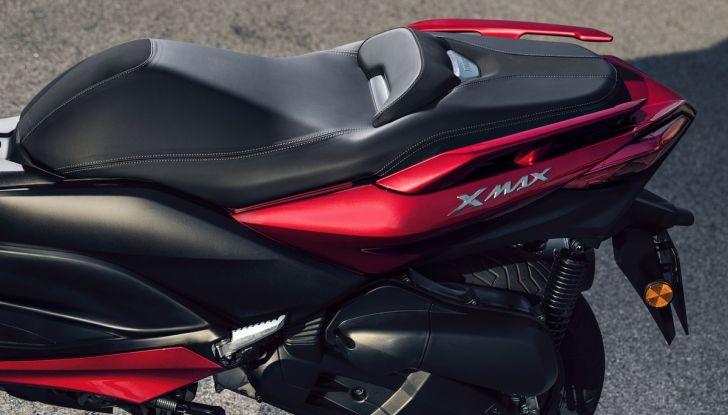 Yamaha X-Max 125: confort, tecnologia e stile - Foto 18 di 25