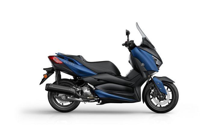Yamaha X-Max 125: confort, tecnologia e stile - Foto 8 di 25
