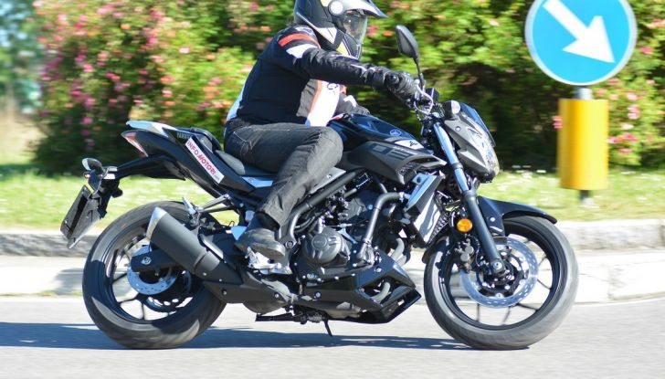 Prova Yamaha MT-03: entry level con qualcosa in più - Foto 18 di 28