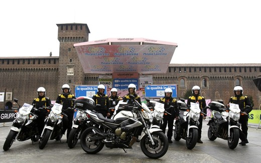 Yamaha XJ6 moto del Giro d'Italia - Foto 9 di 28