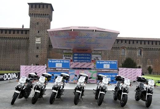 Yamaha XJ6 moto del Giro d'Italia - Foto 15 di 28