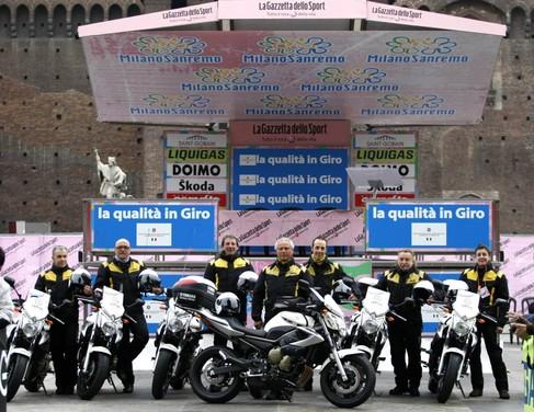 Yamaha XJ6 moto del Giro d'Italia - Foto 25 di 28