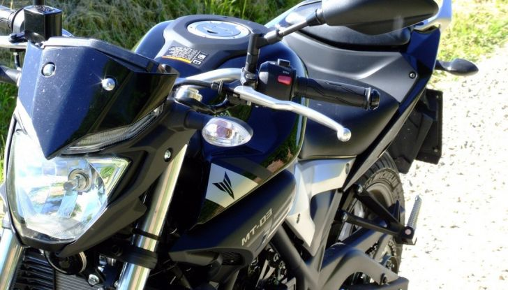 Prova Yamaha MT-03: entry level con qualcosa in più - Foto 6 di 28