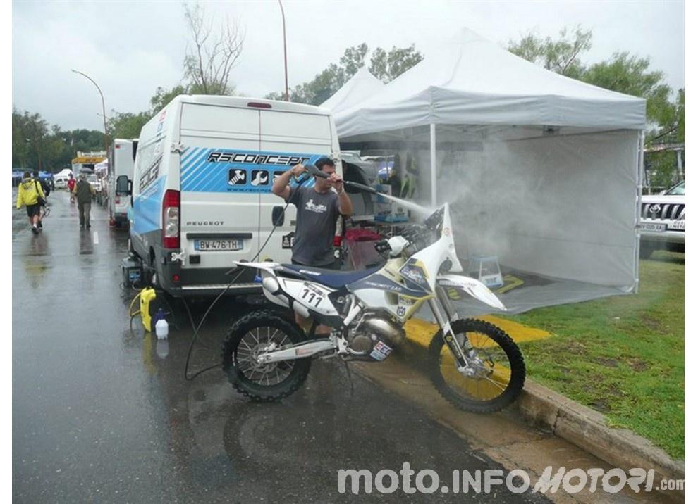 Alla Dakar con una Husqvarna TE 125 Rally, la sfida di Sylvain Espinasse - Foto 4 di 15