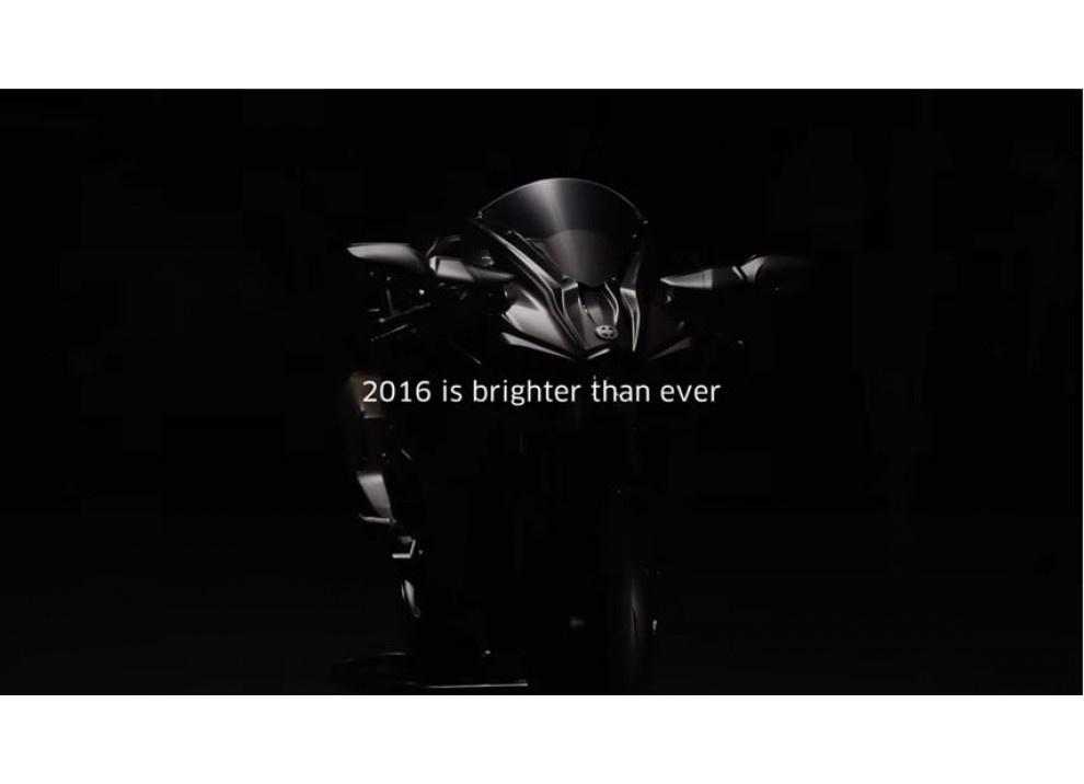 Annunciata con un video la Kawasaki Ninja H2 m.y. 2016 - Foto 8 di 9
