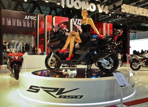 Aprilia SRV 850: disponibile ad un prezzo di 9.630 Euro da gennaio 2012 - Foto 3 di 15