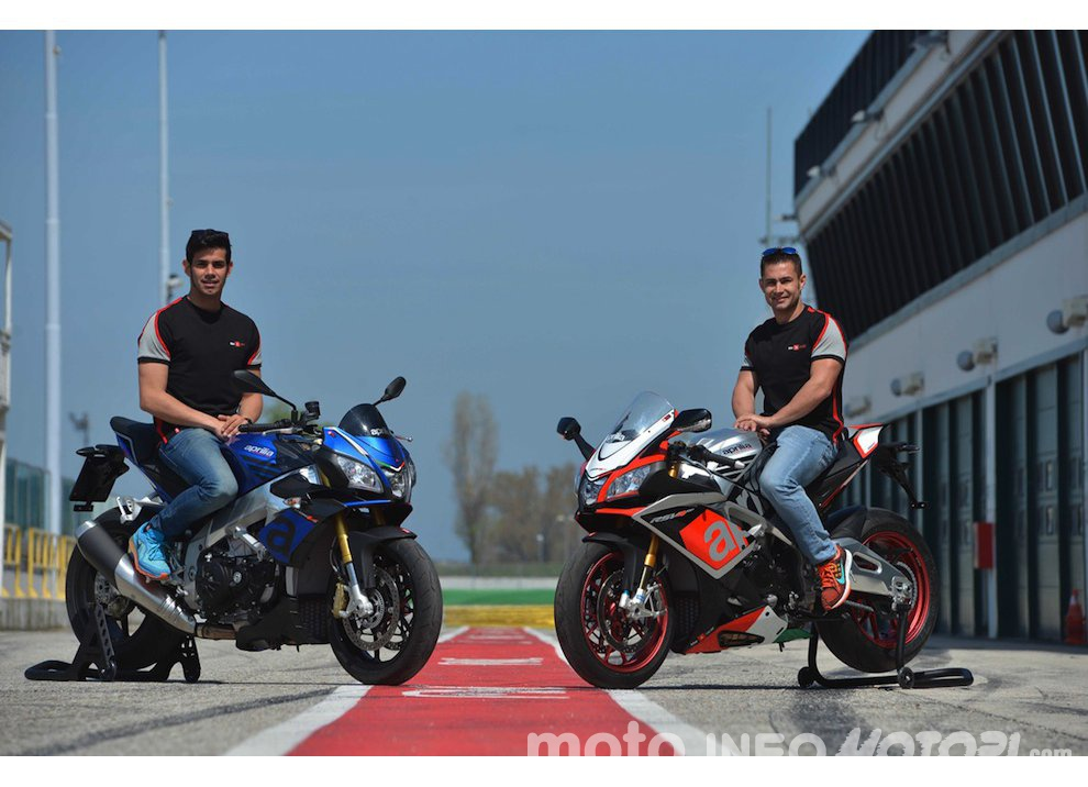 Aprilia V4 Days, Test Ride gratuiti in pista con RSV4 RF e 1100 V4 Tuono 2015