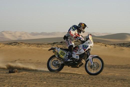 Aprilia Dakar 2010 terza vittoria
