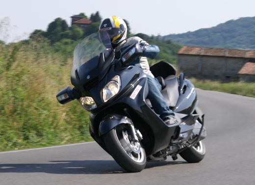 Suzuki Burgman 650 – Long Test Ride