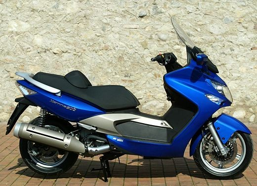 Kymco Xciting 500: Test Ride - Foto 6 di 11
