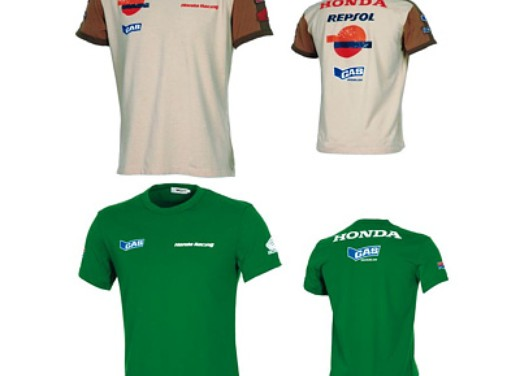 T-shirts: Official Gas Honda Collection - Foto 1 di 2