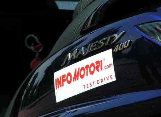 Yamaha Majesty 400: Test Ride - Foto 13 di 25