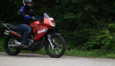 Honda Transalp XL 650 V - Test  Ride