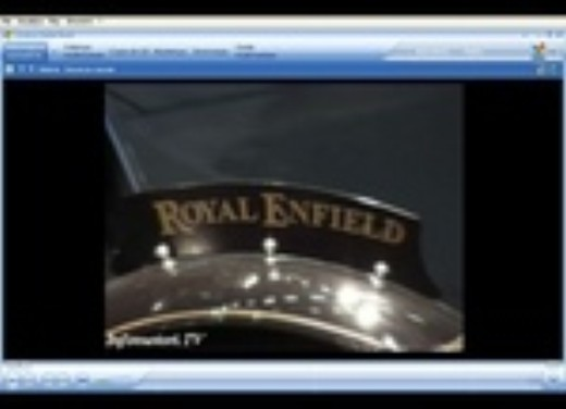 Royal Enfield all'Intermot 2006 - Foto 1 di 12