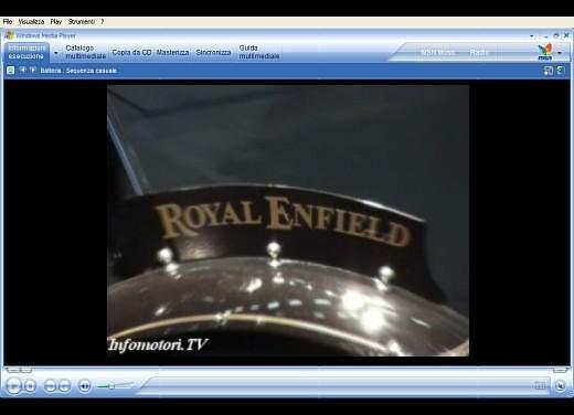 Video Royal Enfield all' Intermot 2006