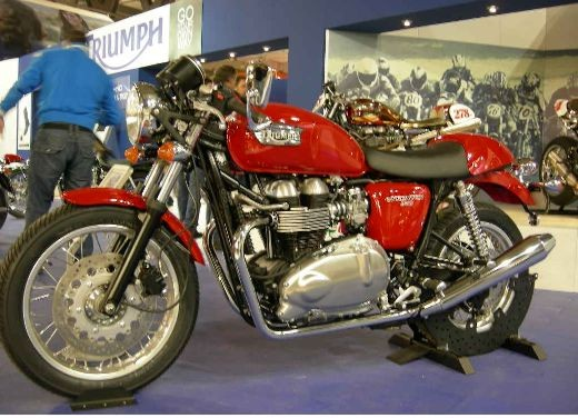 Triumph all'EICMA 2006 - Foto 2 di 18