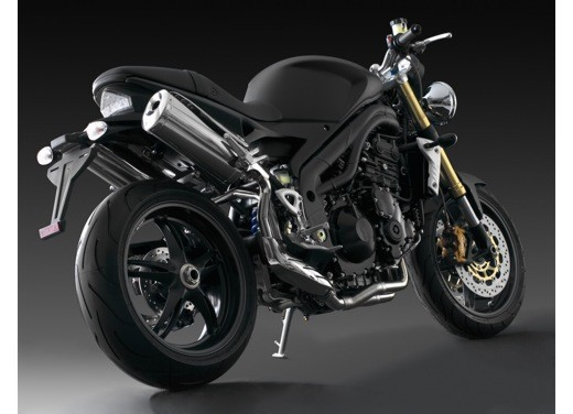 Triumph Speed Triple Matt Black