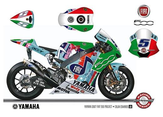 Fiat 500 e Yamaha Team - Foto 6 di 12