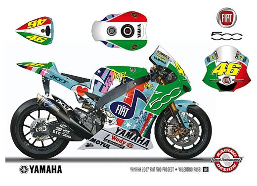 Fiat 500 e Yamaha Team - Foto 8 di 12