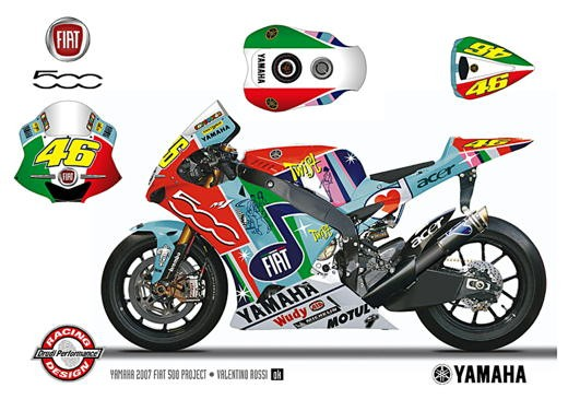 Fiat 500 e Yamaha Team - Foto 9 di 12