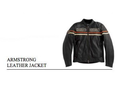 Abb&Acc: Armstrong Leather Jacket - Foto 3 di 4