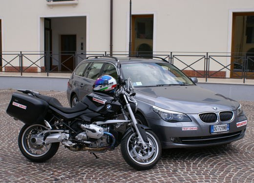 BMW 525d Touring & R 1200 R – Test Drive - Foto 4 di 25