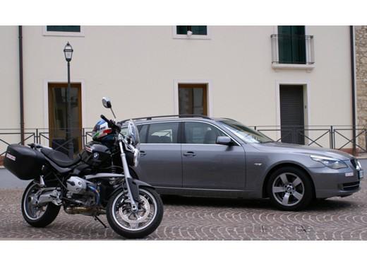 BMW 525d Touring & R 1200 R – Test Drive - Foto 14 di 25