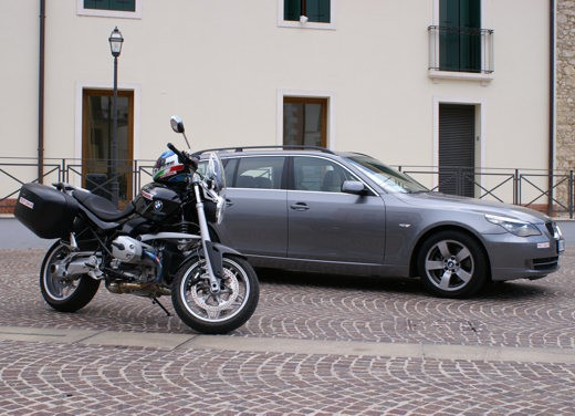 BMW 525d Touring & R 1200 R – Test Drive - Foto 15 di 25